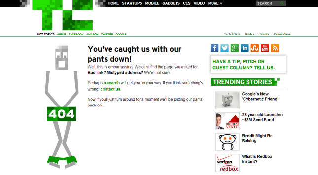 ERROR TechCrunch